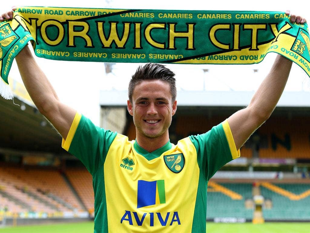 <p>Ricky van Wolfswinkel  (Sporting Lisbon to Norwich)</p> <p>Fee: £8.5m. Age: 24. Nationality: Dutch. Position: Forward.</p> <p>Arguably the best-named Premier League player since Jan Vennegor of Hesselink, he will hope to do better for Norwich than his