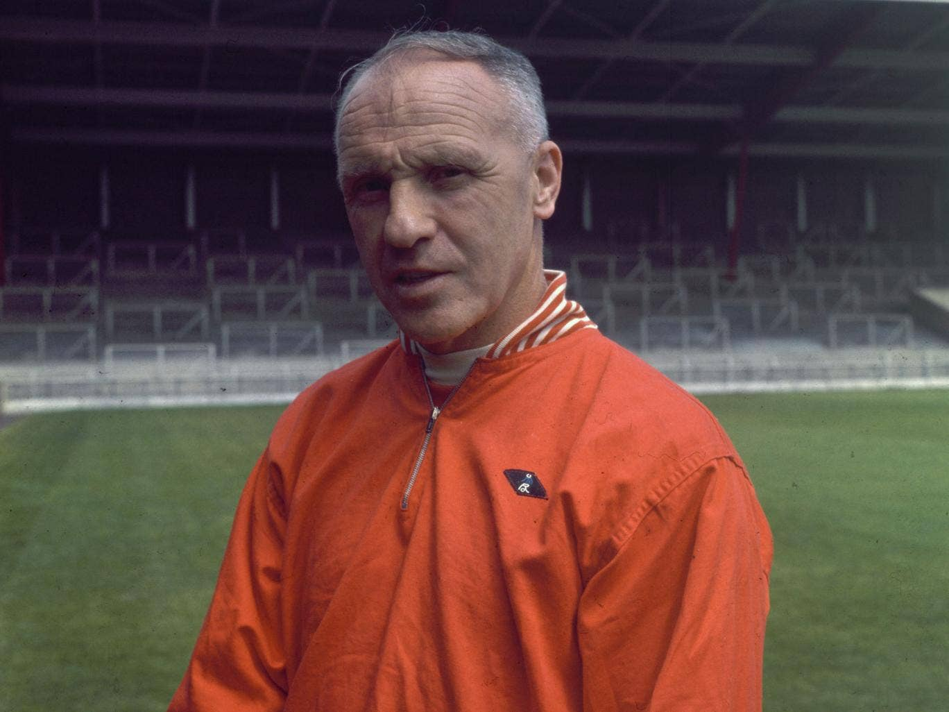 'Some people believe football is a matter of life and death, I am very disappointed with that attitude. I can assure you it is much, much more important than that' – the words of Bill Shankly, seen above at Anfield in 1969