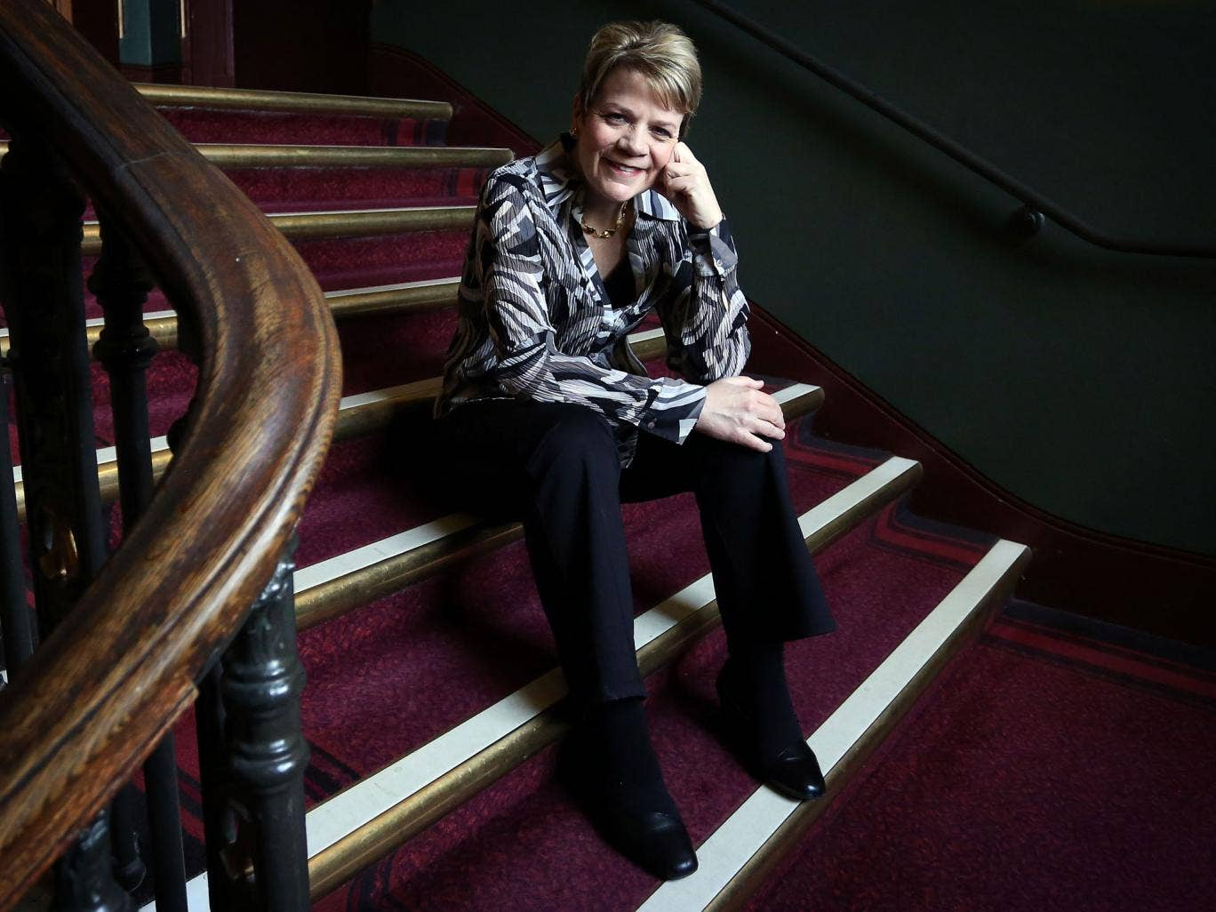 Marin Alsop will be the first female conductor on the Royal Albert Hall podium