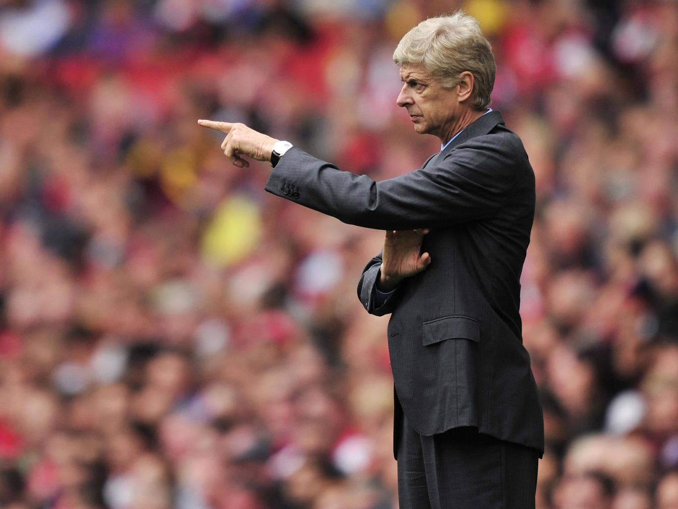 Arsenal manager Arsène Wenger said he is prepared to strengthen his squad before the end of the transfer window