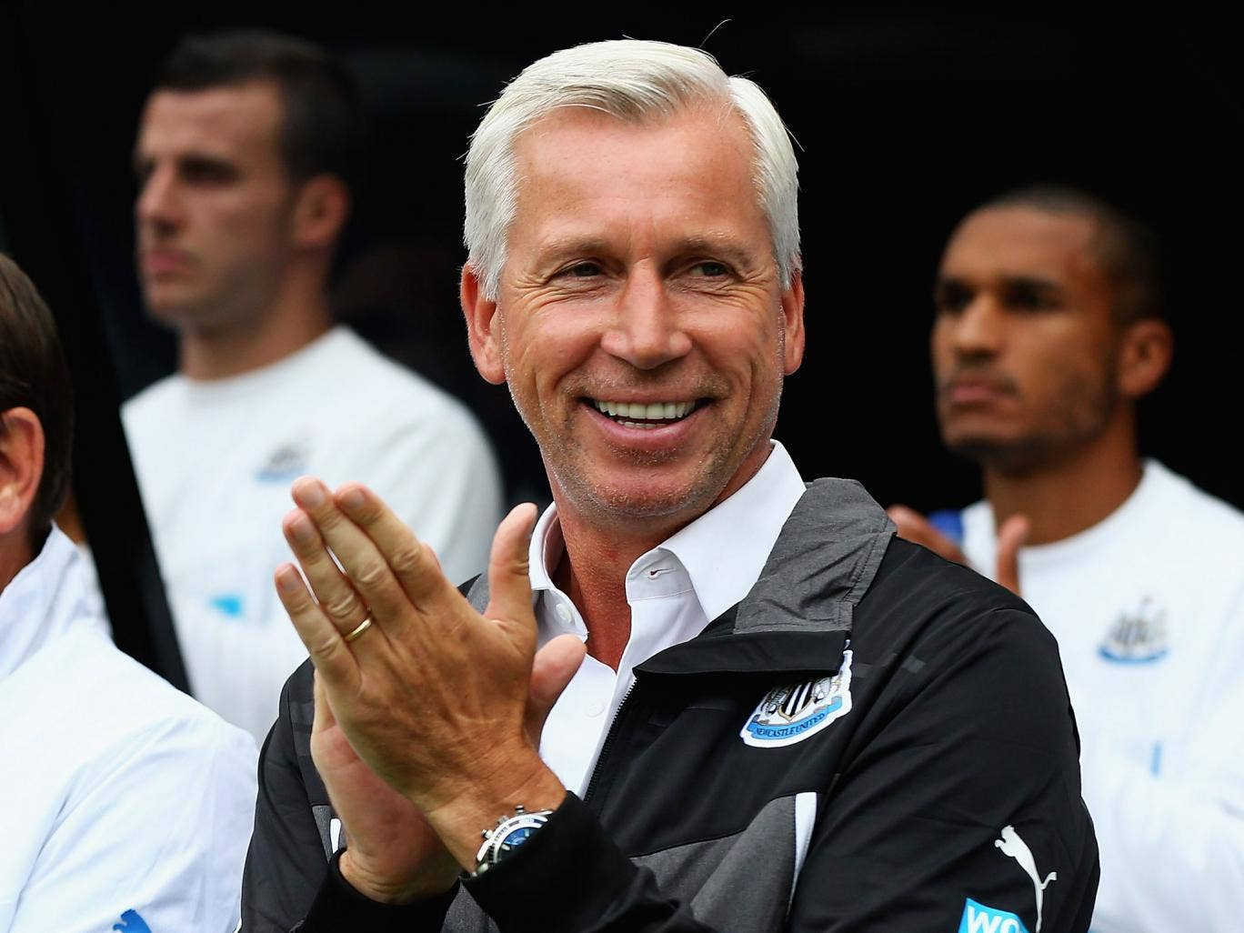 Alan Pardew says the Newcastle players return 'fitter than ever'