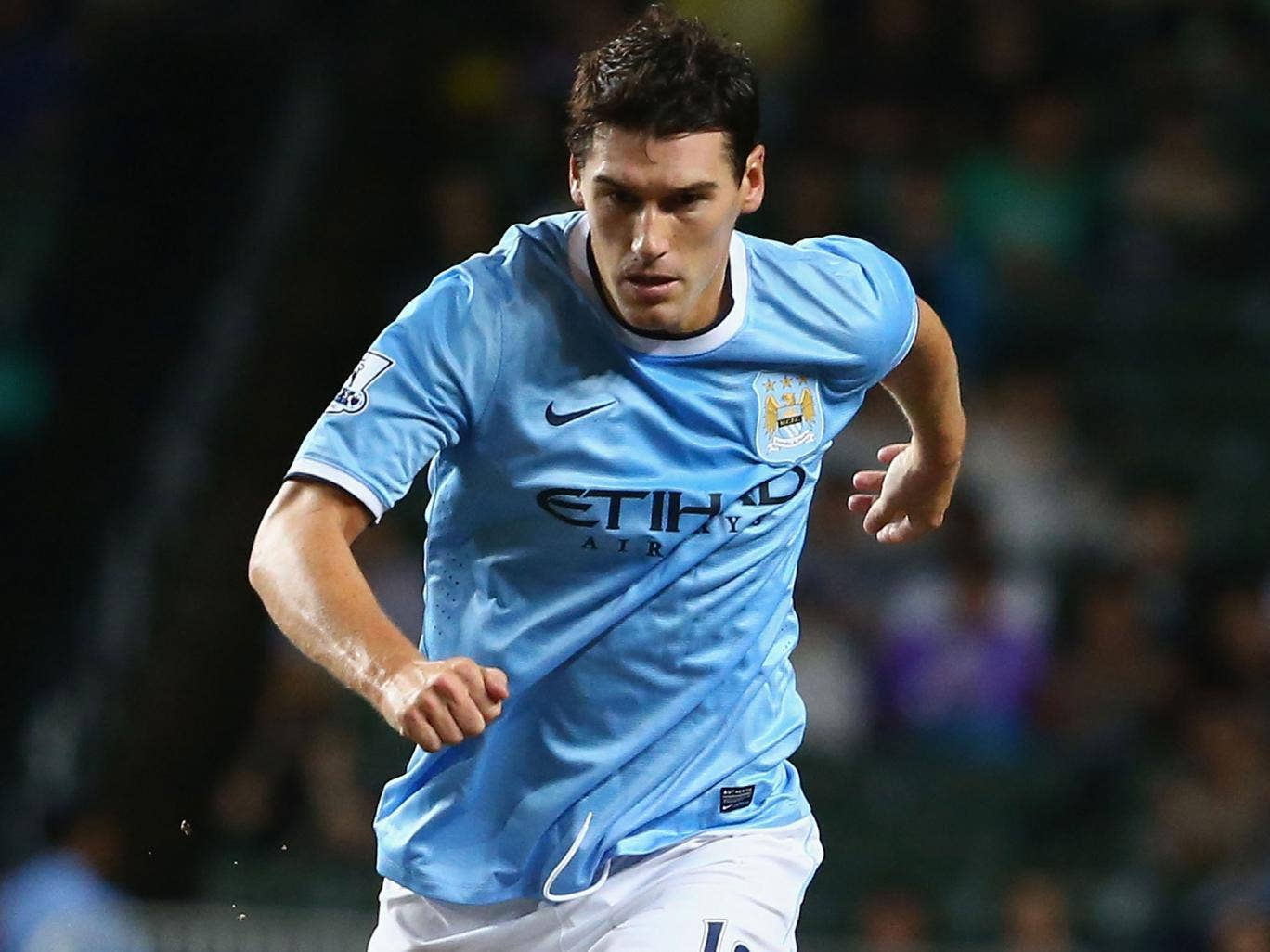 Gareth Barry will be allowed to leave Manchester City