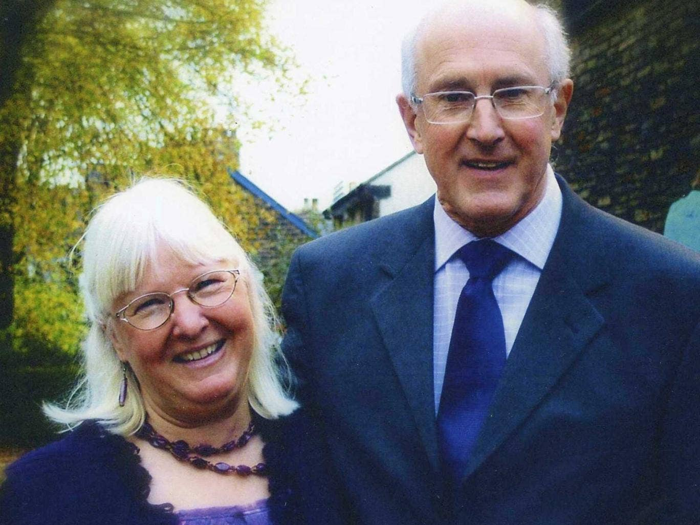 Maureen Greaves with her husband Alan