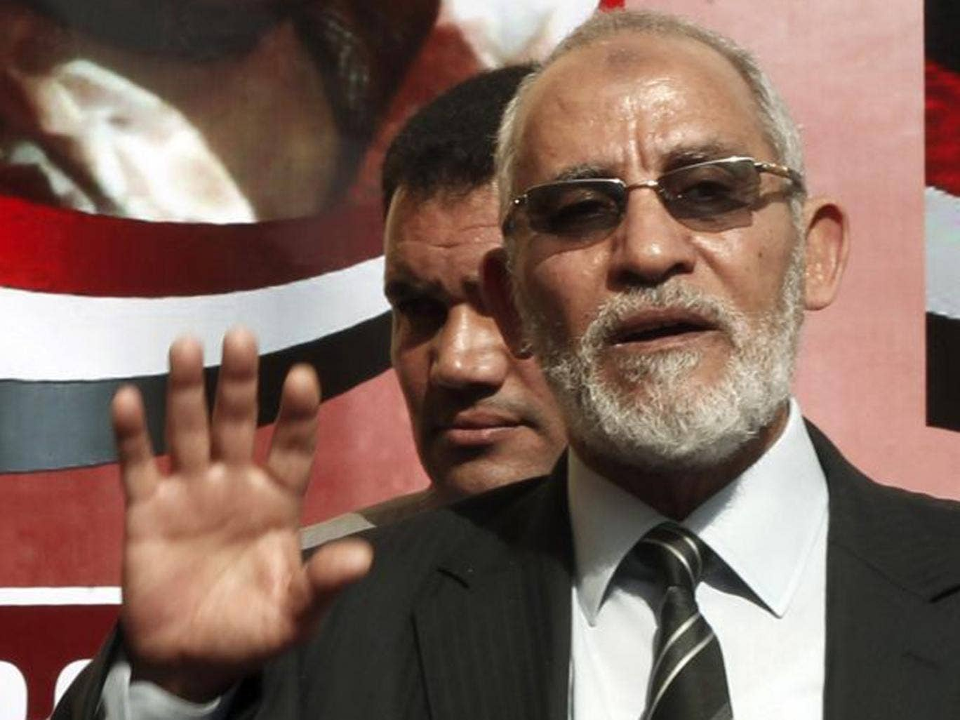 Security officials said Mohamed Badie was captured in a flat in the eastern Cairo district of Nasr City