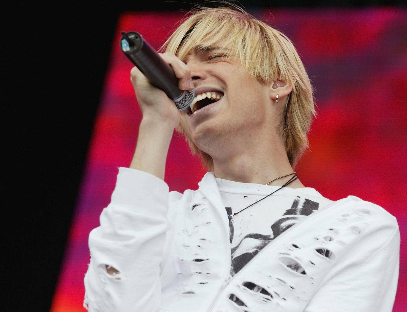 Alex Band was apparently only spared death after telling his captors he was about to become a father