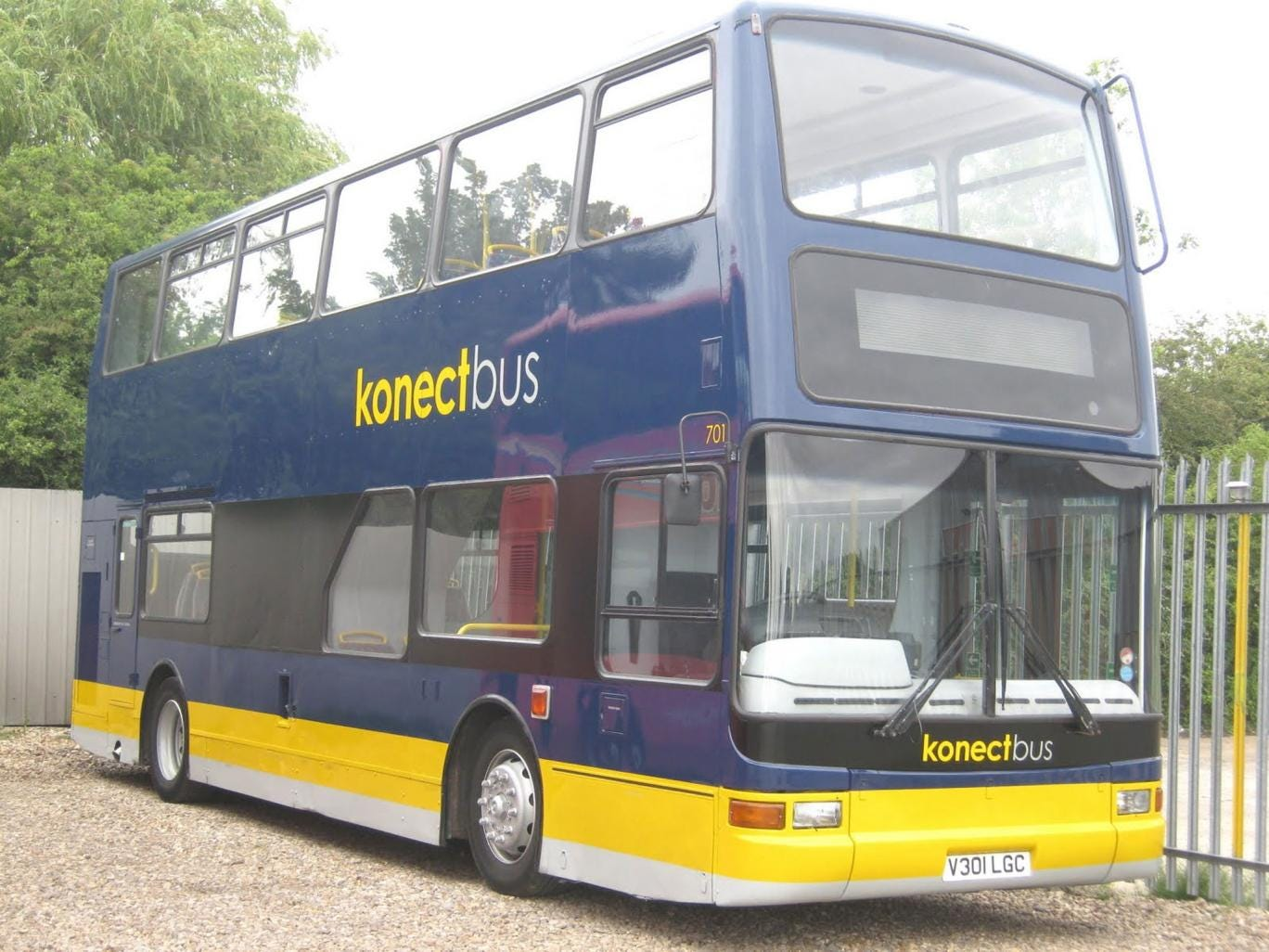 The attack took place on a Konectbus such as this