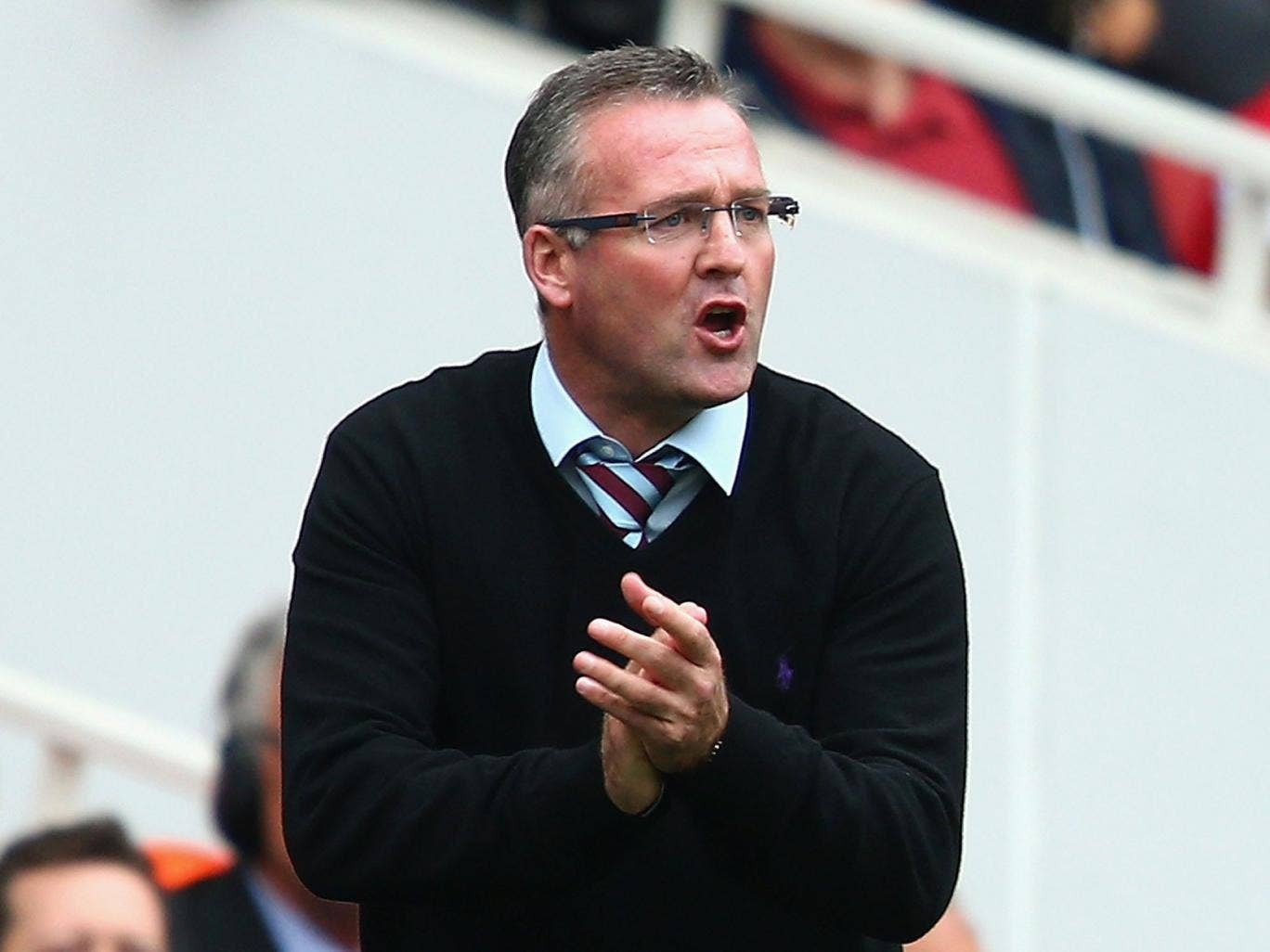 Paul Lambert: Villa manager says his players were boosted by having the crowd behind them