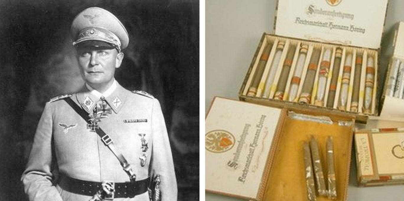 A collection of cigars tailor-made for Hermann Goering have gone on sale.