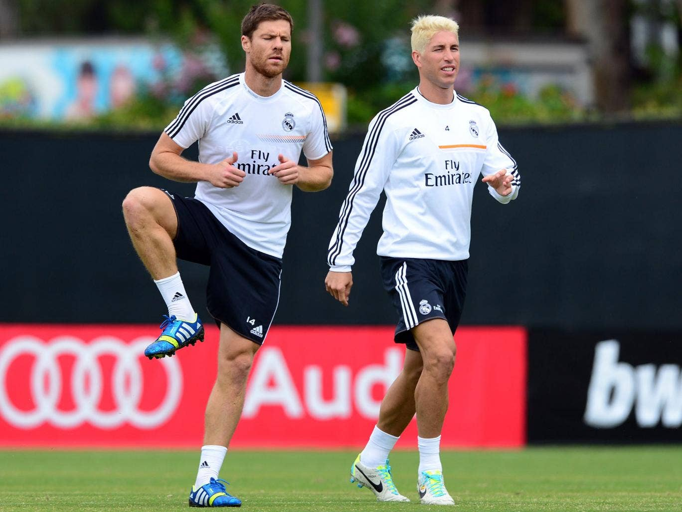 Xabi Alonso had only just returned to training after a groin operation but will now face up to three months out with a broken foot