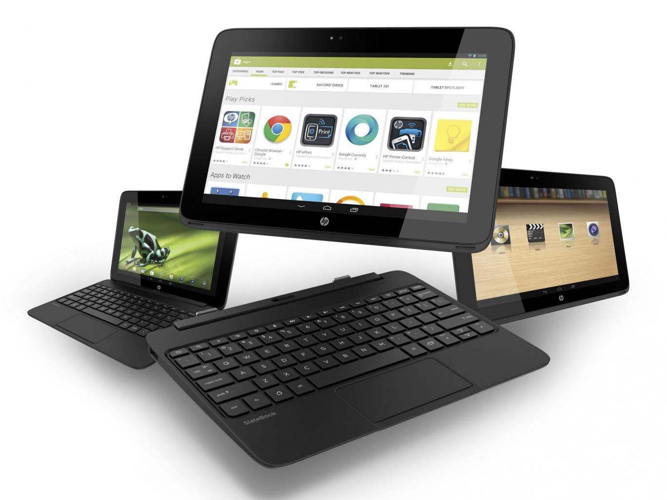 The HP Slatebook X2 makes a great companion device if you're moving about during the day