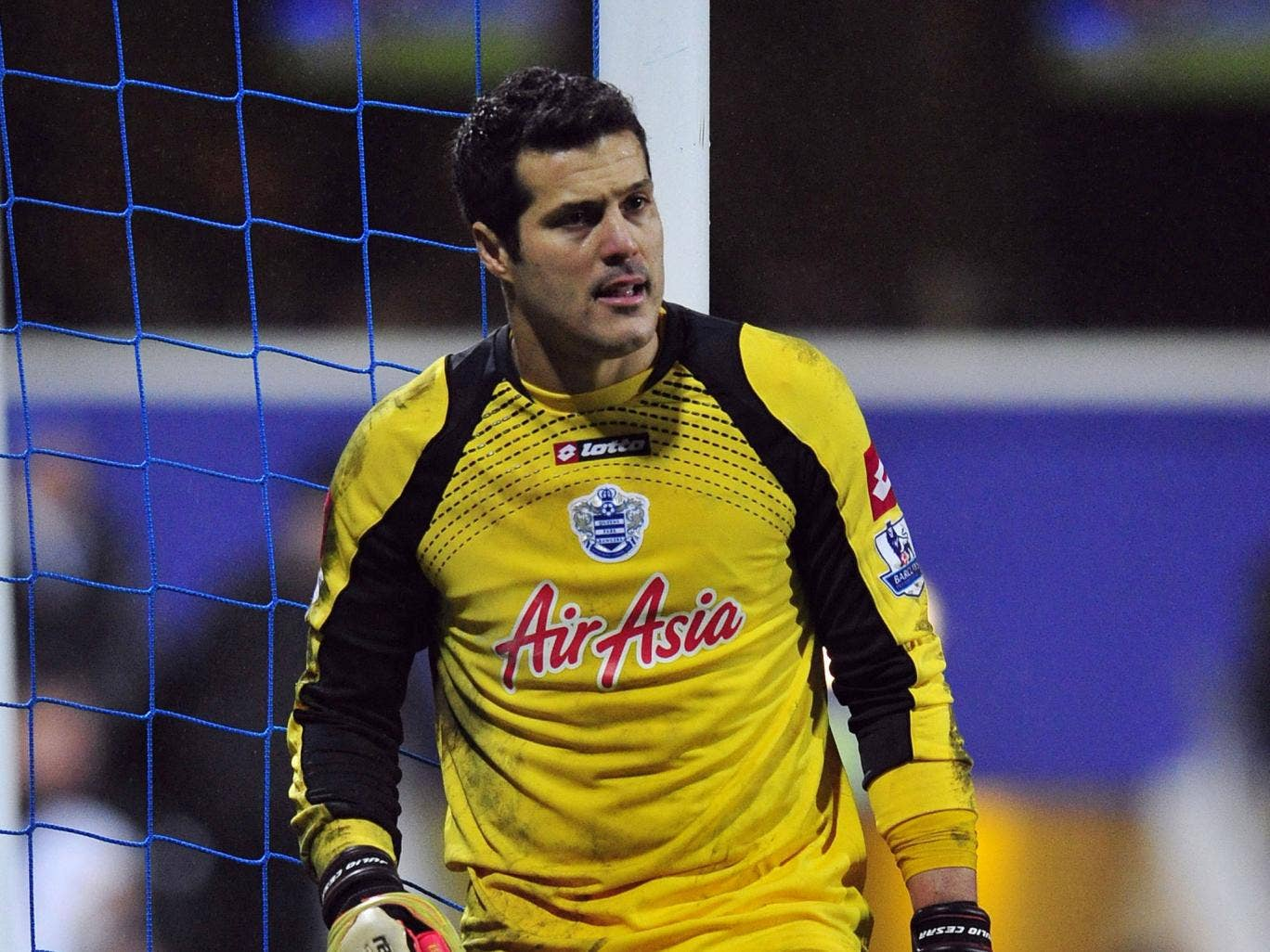 Queens Park Rangers' goalkeeper Julio Cesar had been linked with a move to Arsenal