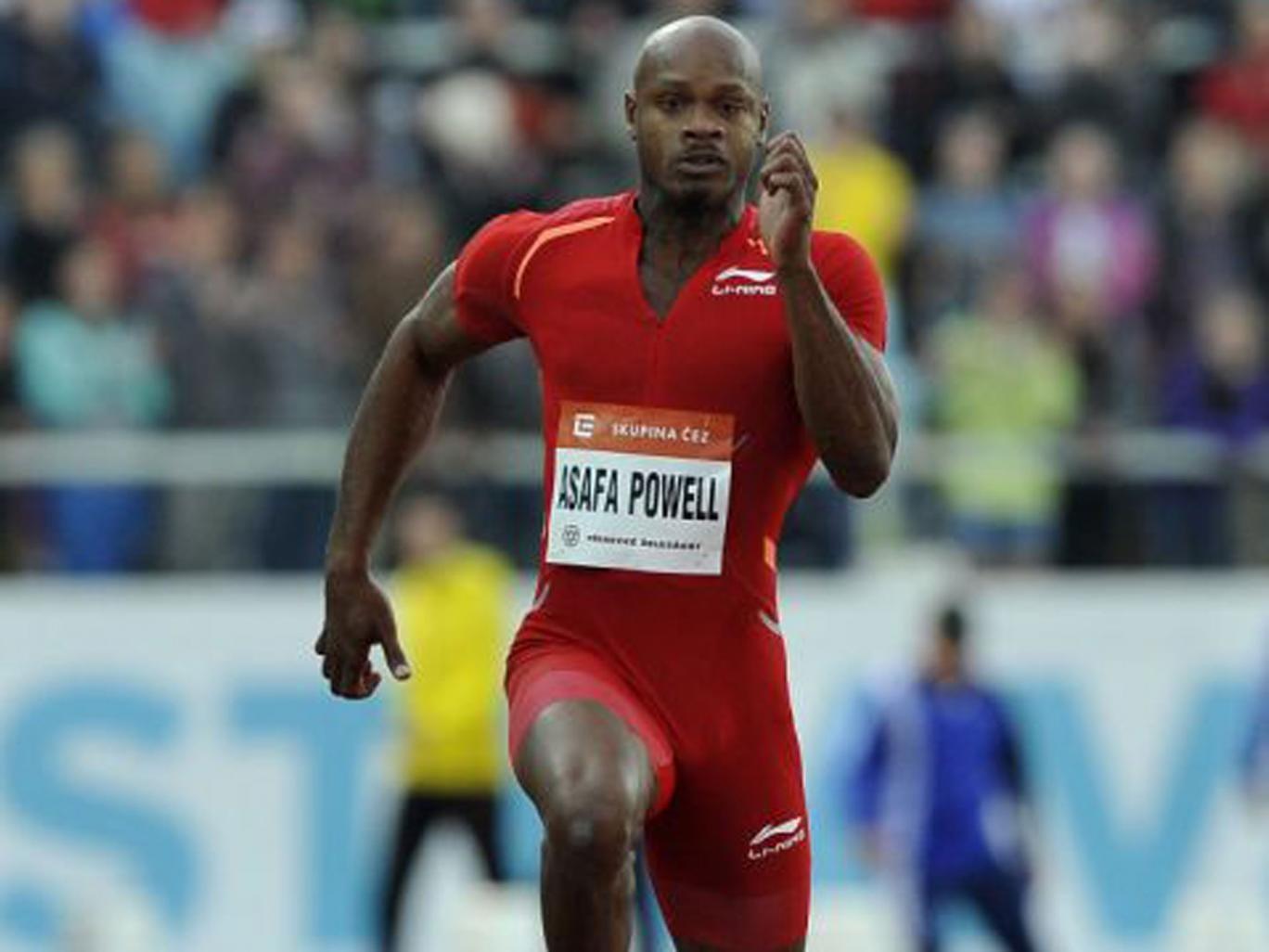 Asafa Powell has blamed his failed test on a supplement