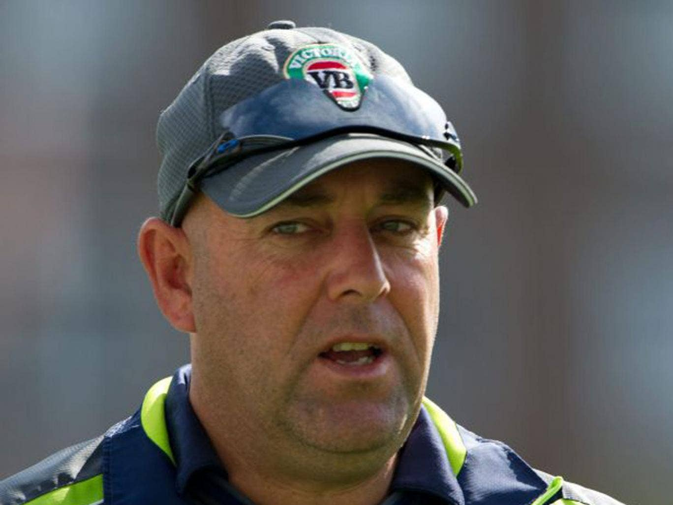 Darren Lehmann was fined 20 per cent of his match fee last night