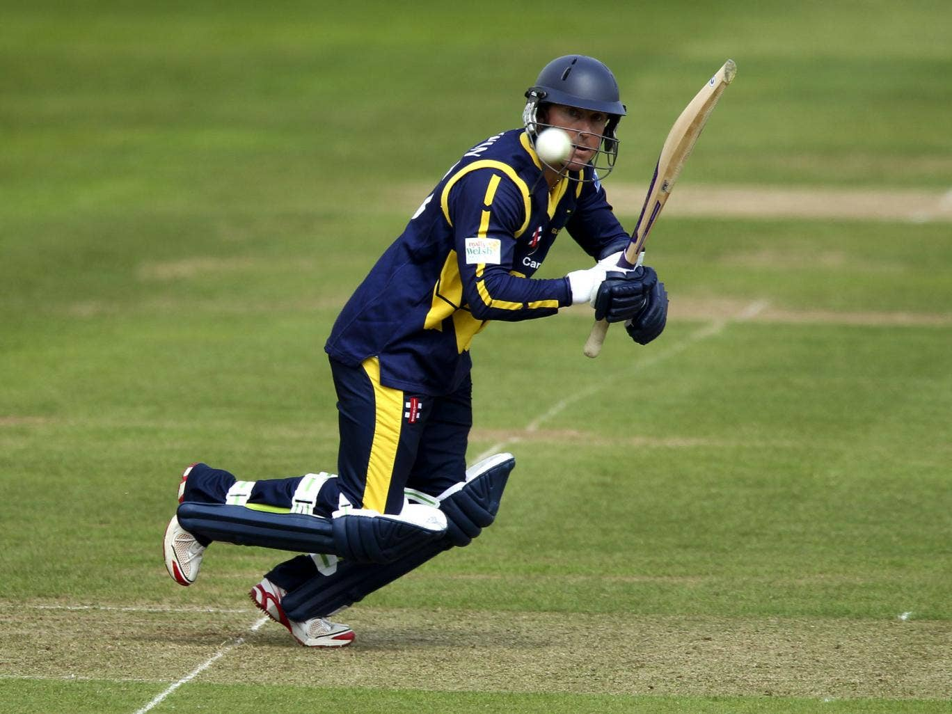 Goodwin completed 1,000 first-class runs in a season for the 10th time