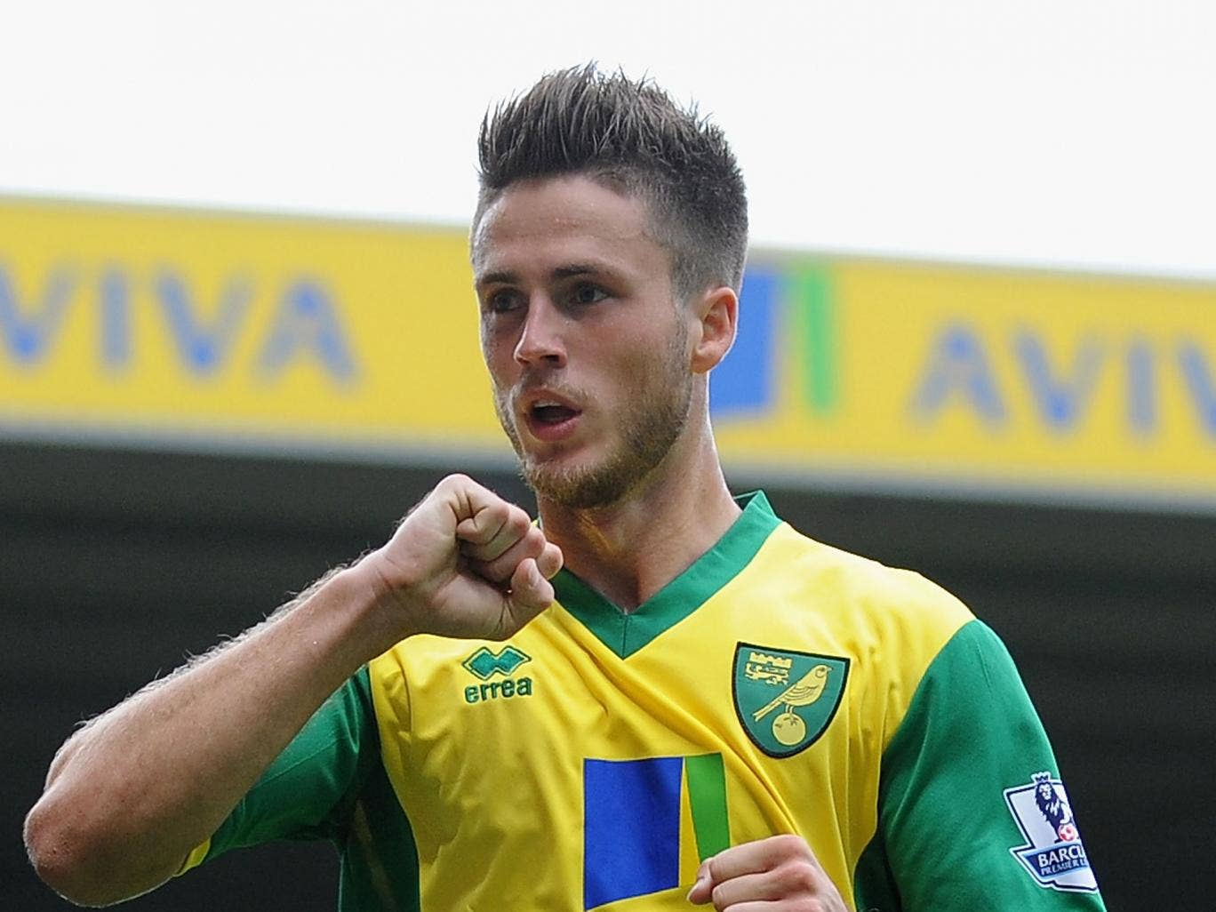 Ricky van Wolfswinkel marked his Norwich City debut with a goal last weekend