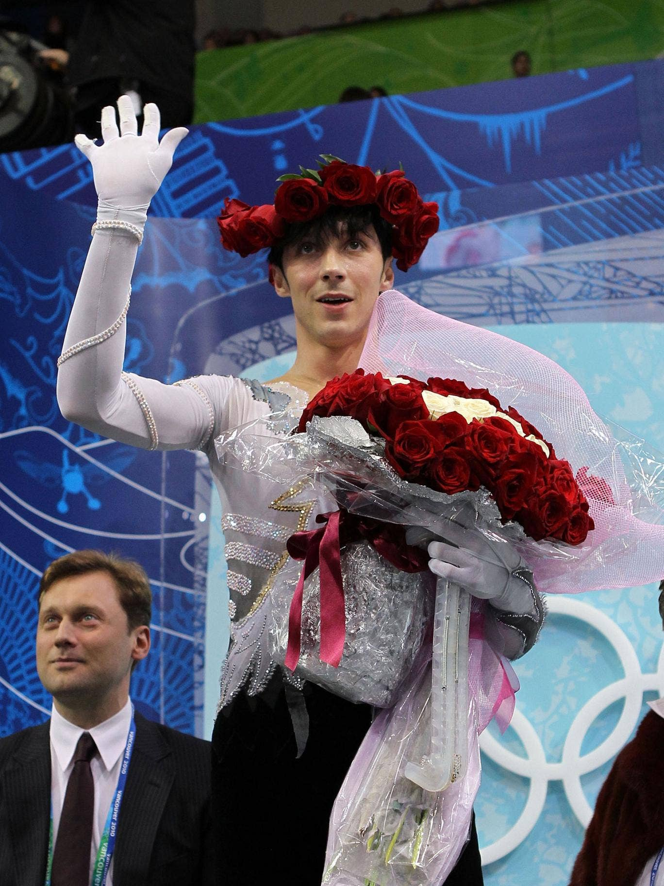 The US skater Johnny Weir will be as flamboyant in Sochi as he was in Vancouver