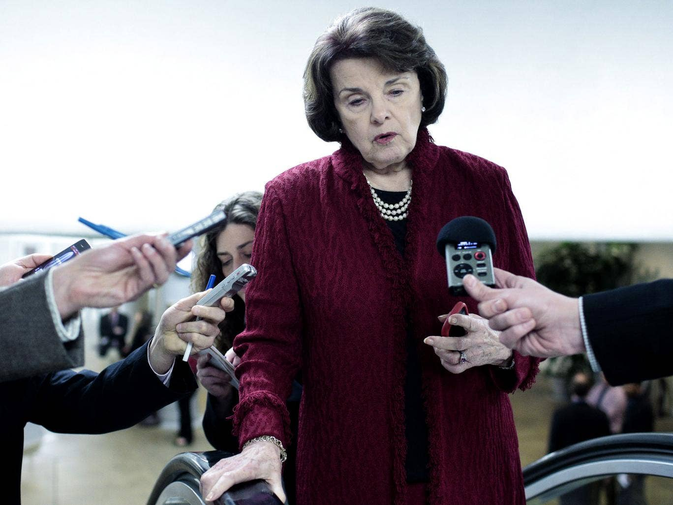 US Senator Dianne Feinstein, chair of Senate intelligence committee, says NSA told of incidents where agency staff eavesdropped on their partners