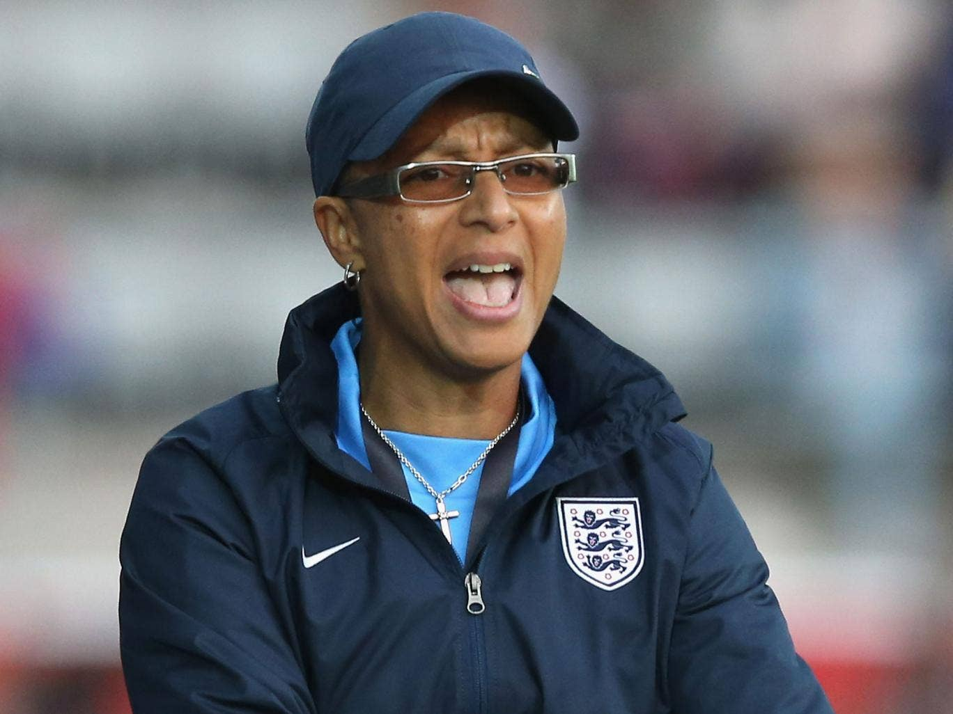 Hope Powell could make a swift return to football in a revolutionary move