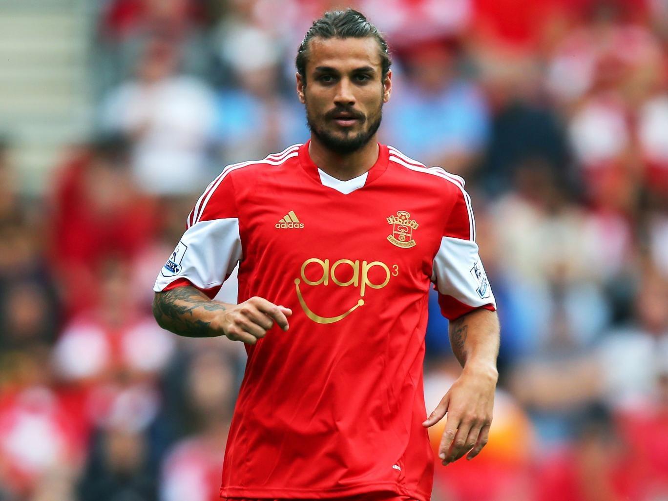 Daniel Pablo Osvaldo narrowly avoided a red card