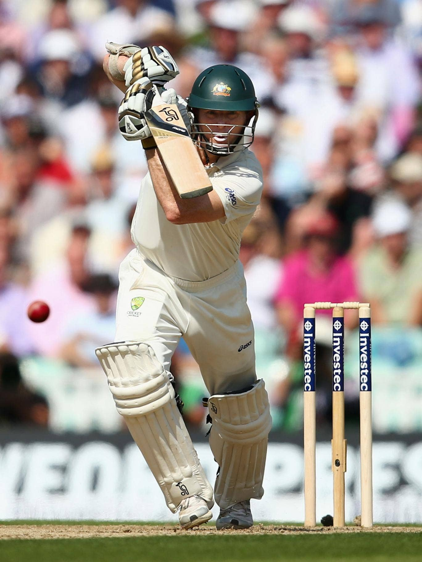 Batsman Chris Rogers offers stability to the top order