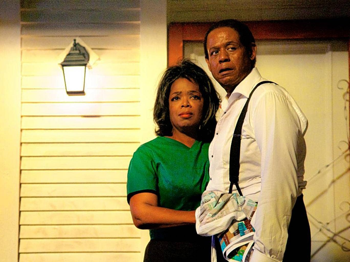 Brace yourself: Oprah Winfrey and Forest Whitaker in 'Lee Daniels' 'The Butler'