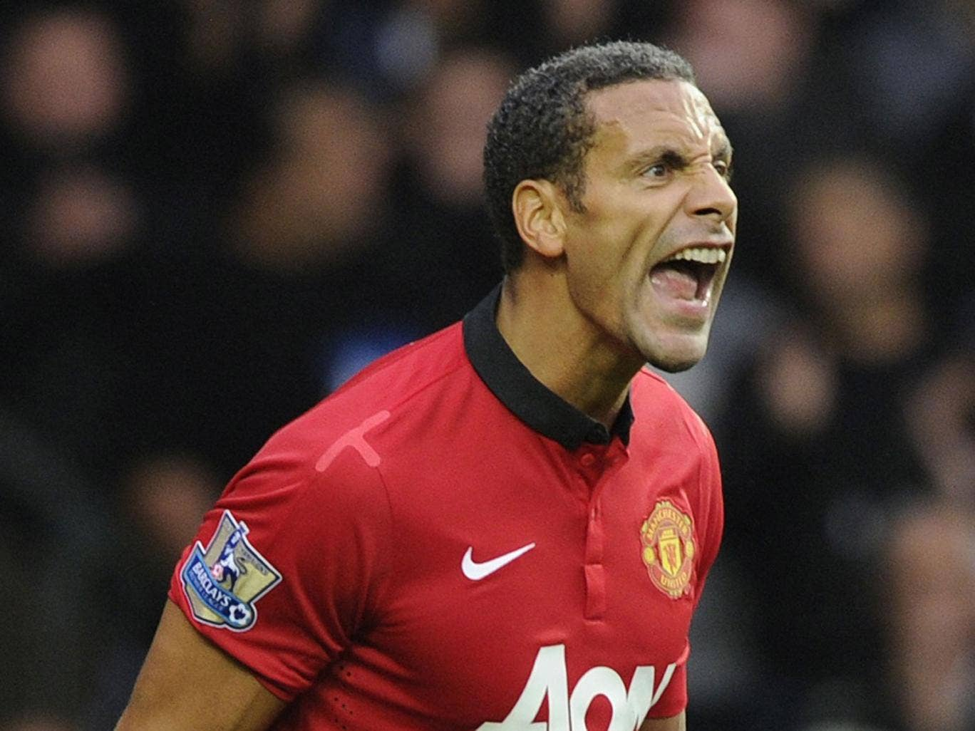 Rio Ferdinand: The United  defender was fined £45,000 for a tweet about Ashley Cole