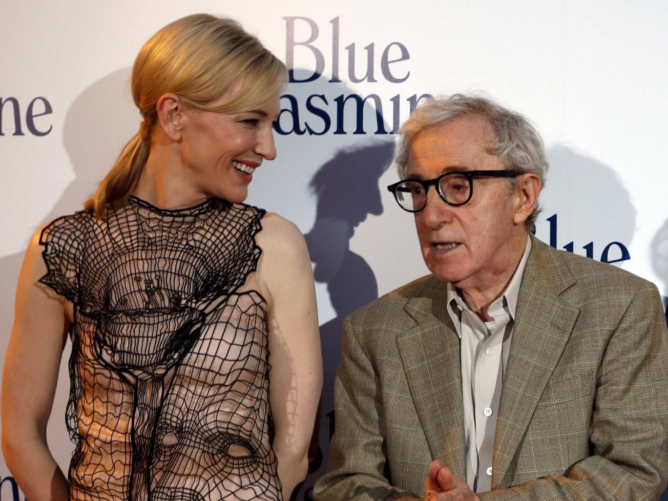 Woody Allen's new film Blue Jasmine premiered in Paris on Tuesday night