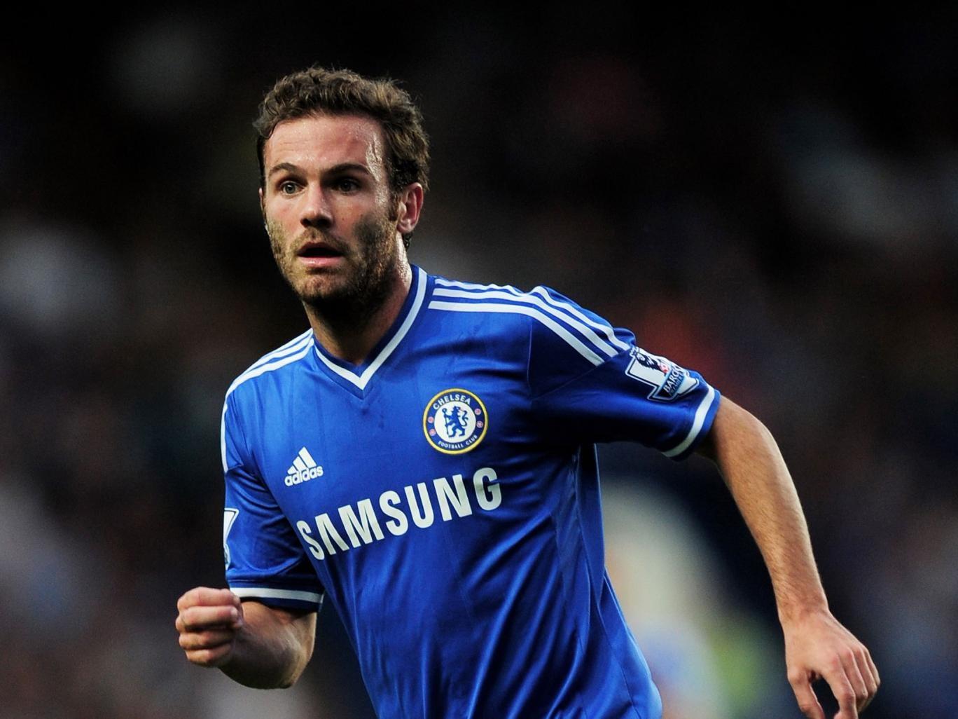 Chelsea's Juan Mata has interested Arsenal