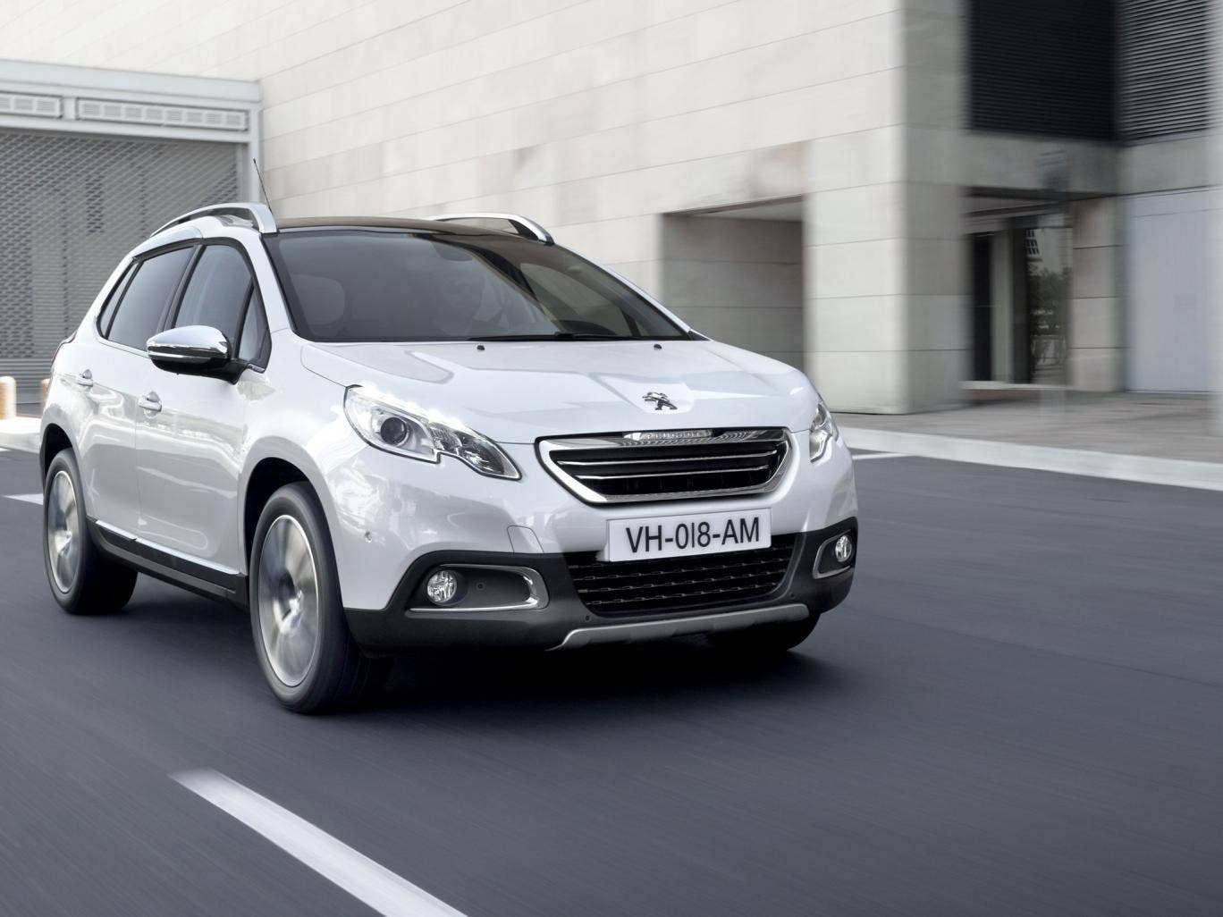 The Peugeot 2008 Crossover has got a utilitarian charm