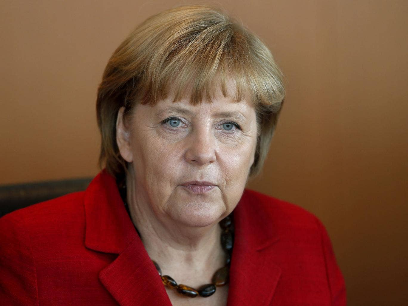 Angela Merkel has said Greece should have never been allowed to join the euro
