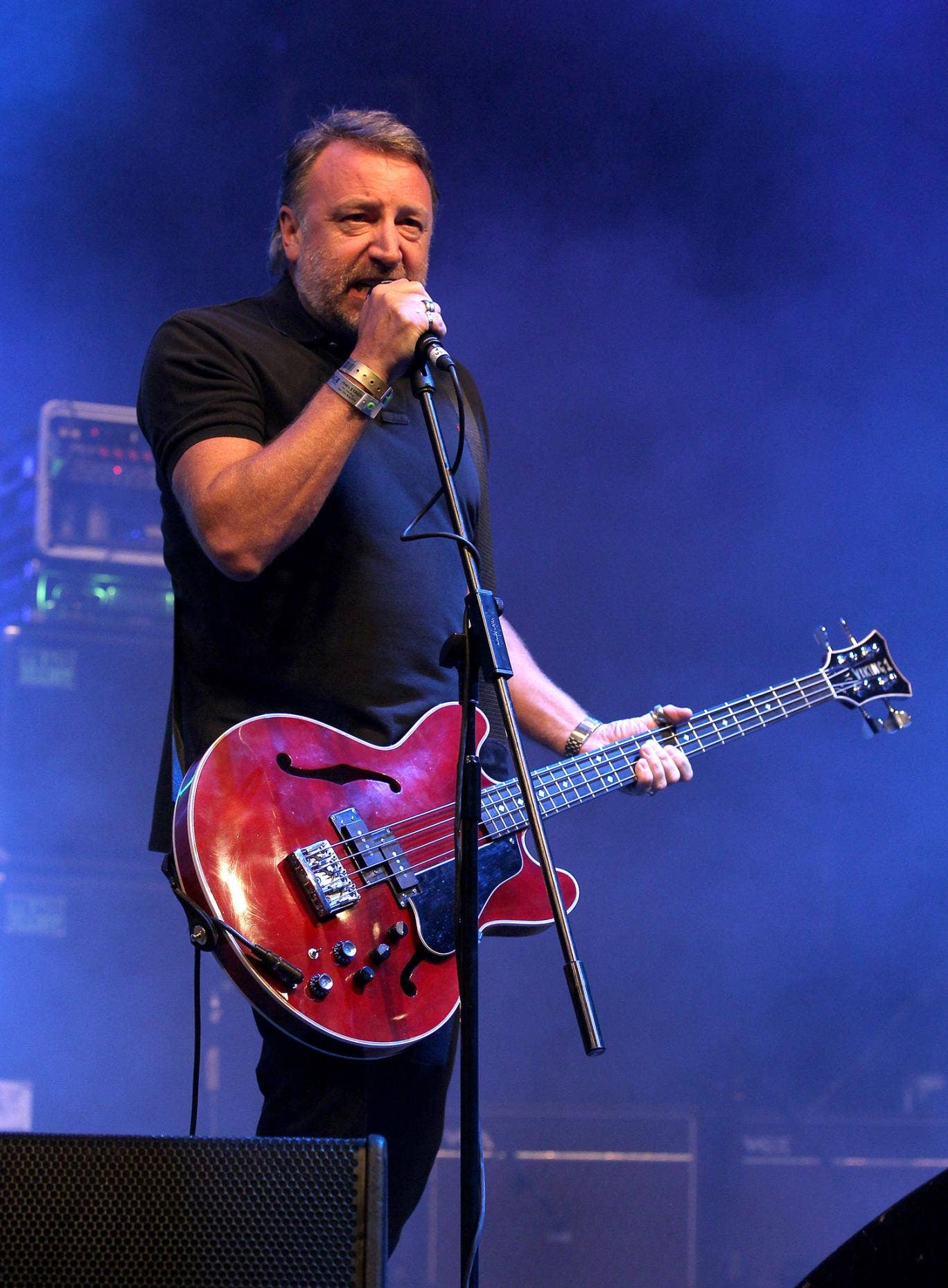 Peter Hook, bassist of Joy Division and New Order, who has accused a sound engineer of extortion