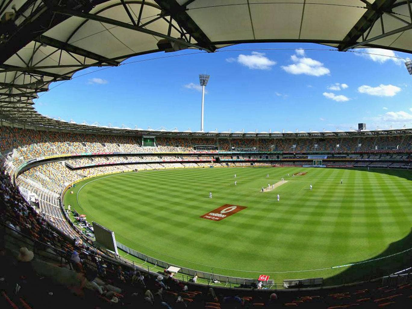 Knocked for six: the Gabba, Brisbane