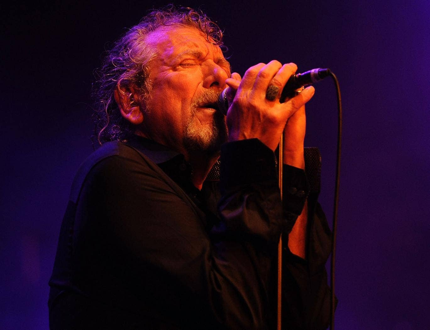Robert Plant performs with the Sensational Space Shifters