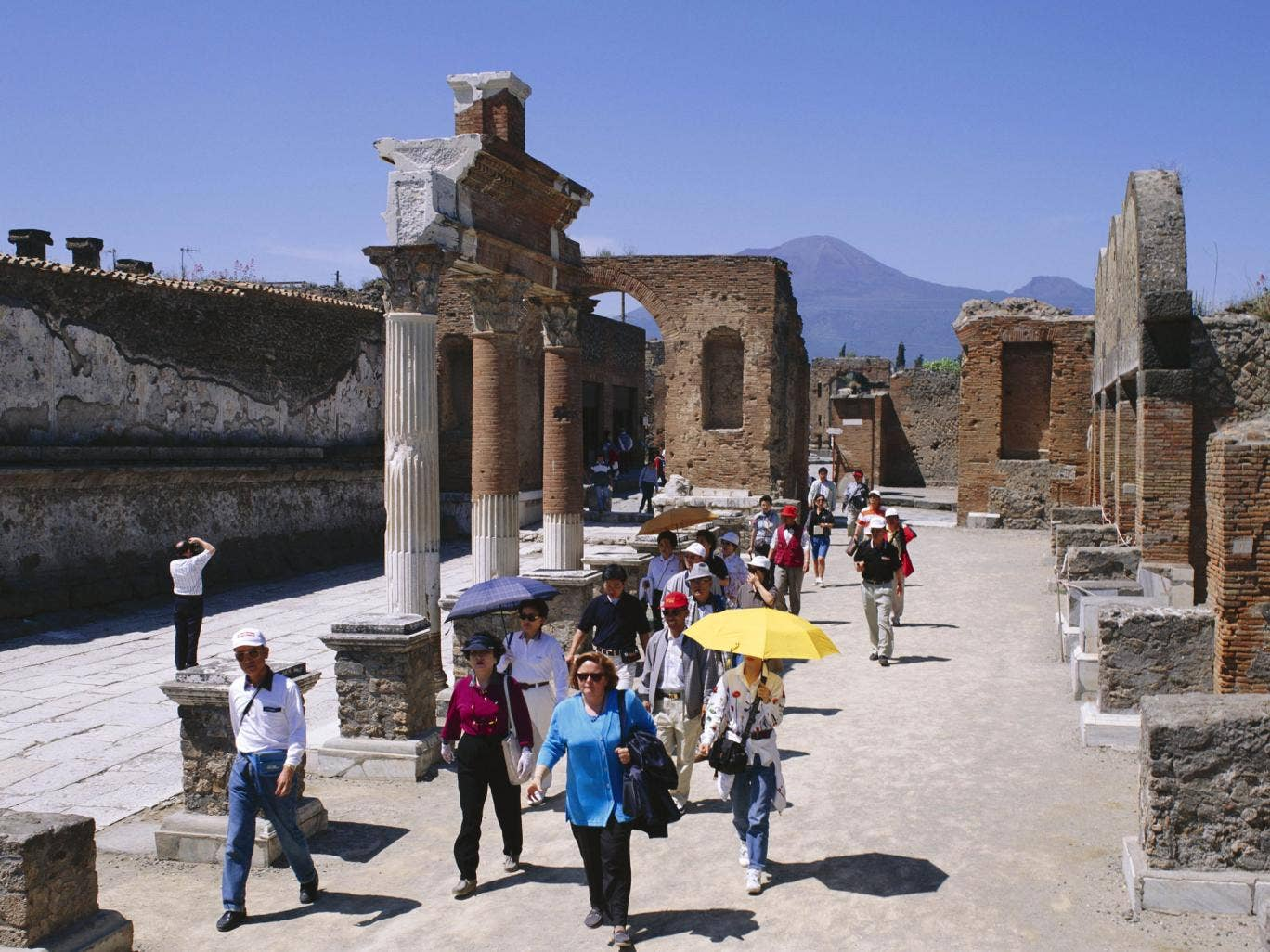 Pompeii has been trampled by millions of tourists