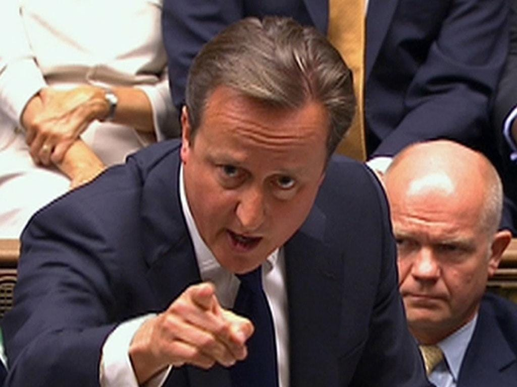 David Cameron will have to appease backbenchers now that the Conservatives have a majority