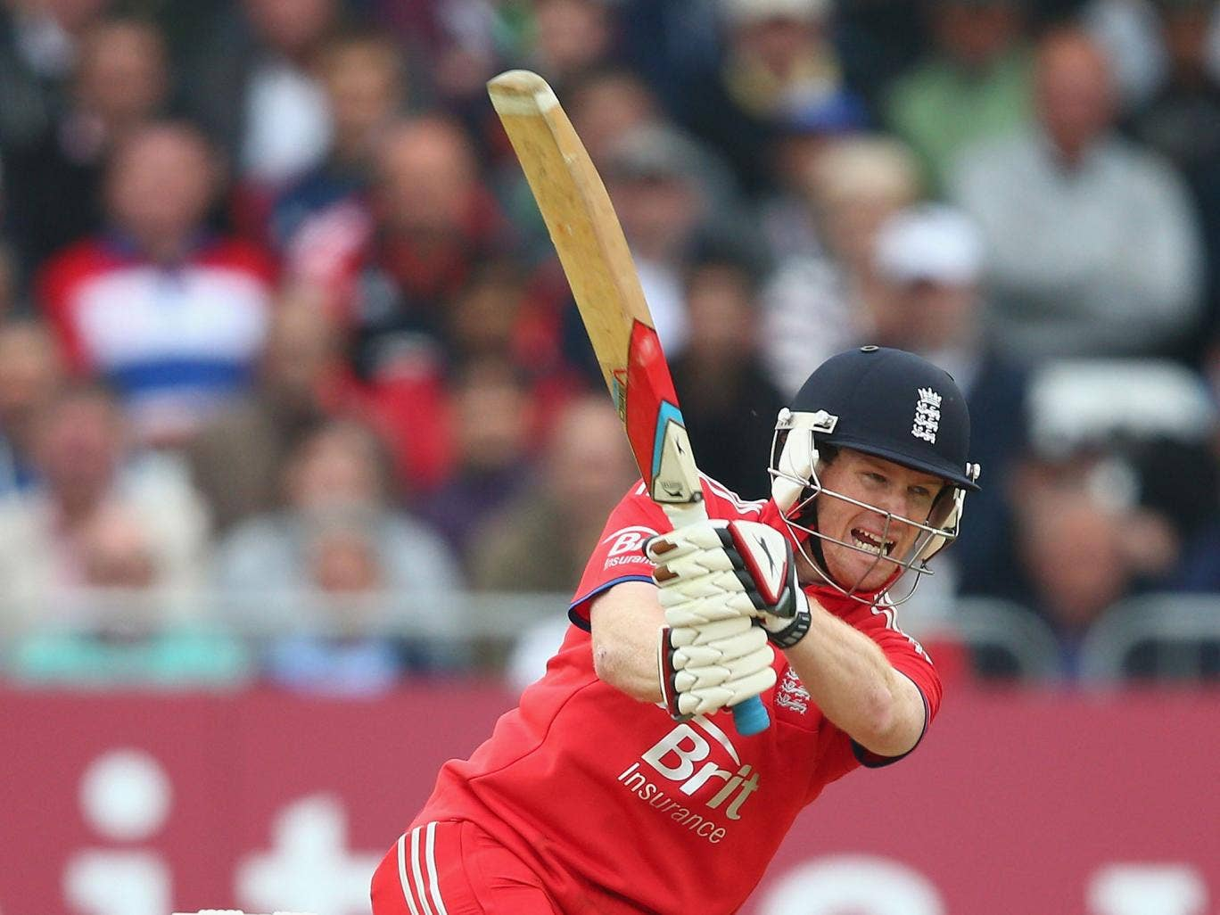 Dublin-born Eoin Morgan switched allegiance to England