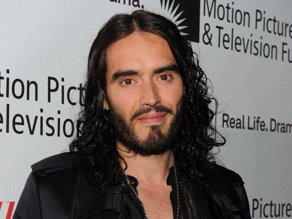 No angel: Russell Brand's new show asks whether the modern age needs heroes
