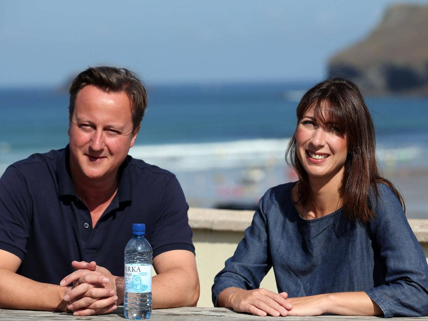 No 10 plays down reports this summer that Samantha Cameron was instrumental in persuading her husband to take military action against the Assad regime in Syria
