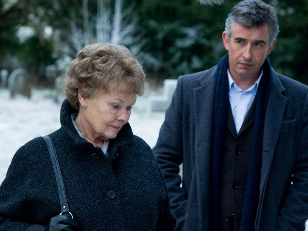 Based on a true story: Judi Dench and Steve Coogan in Philomena