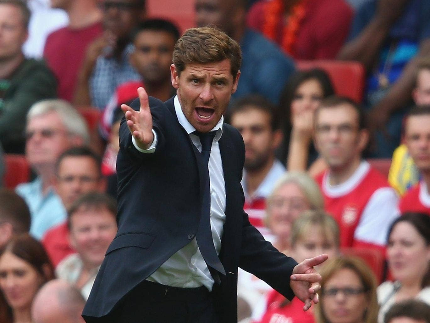 Spurs manager Andre Villas-Boas played five of his new signings