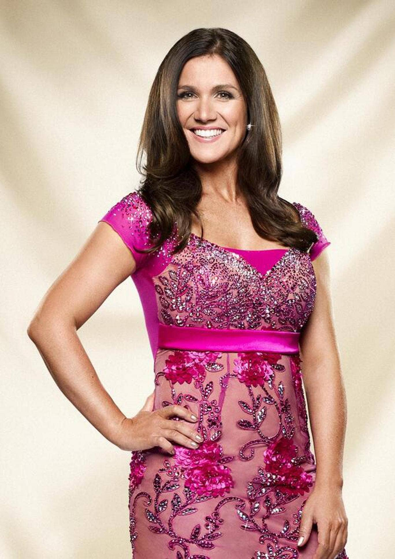 Susanna Reid posted this picture on Twitter to confirm she is appearing on Strictly Come Dancing 2013