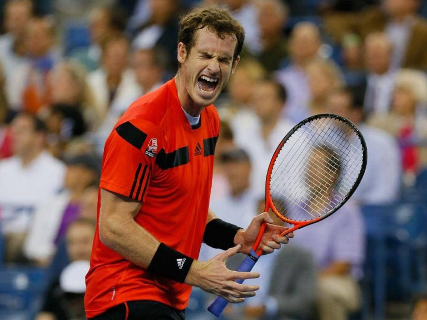 Murray laboured for three hours and seven minutes to dispose of Istomin