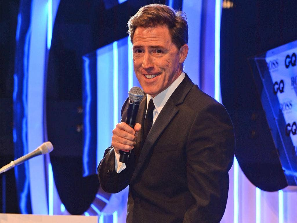 Did Rob Brydon overstep the mark at last night's GQ Awards with his joke about Stephen Fry?
