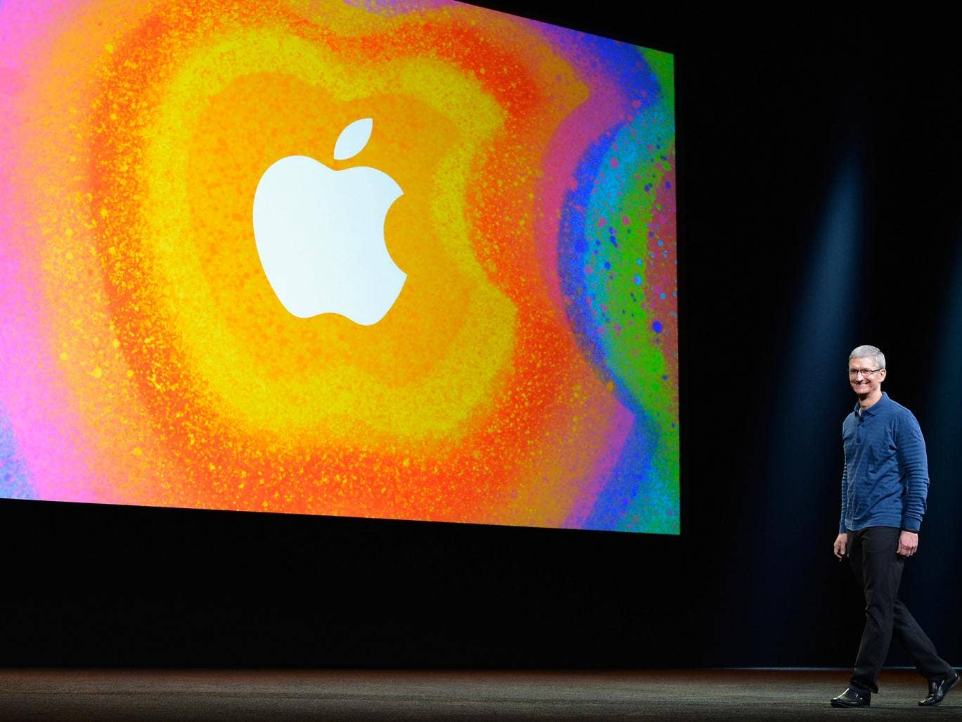 What has Apple CEO Tim Cook got up his sleeve for the next big launch?