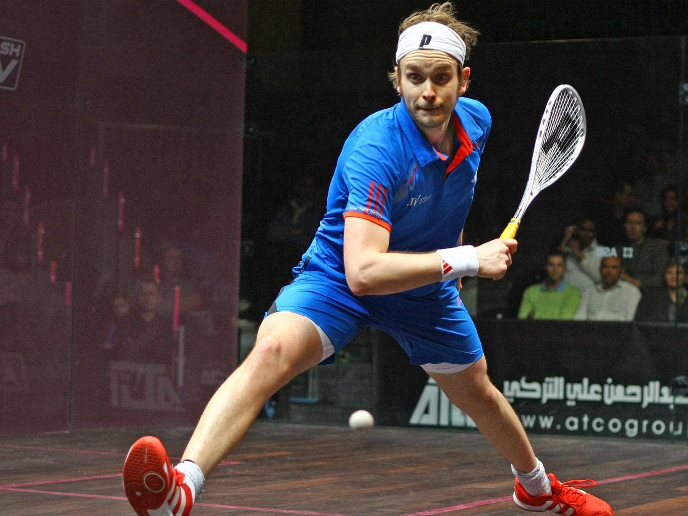 Britain's James Willstrop (pictured) and Nick Matthew would be strong medal contenders should squash become an Olympic sport