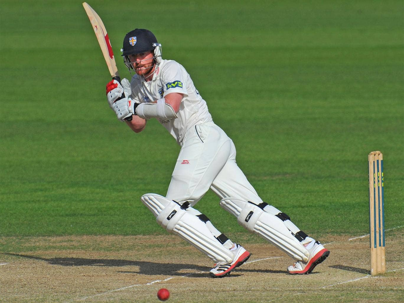 Paul Collingwood made a vital 45 to steady Durham