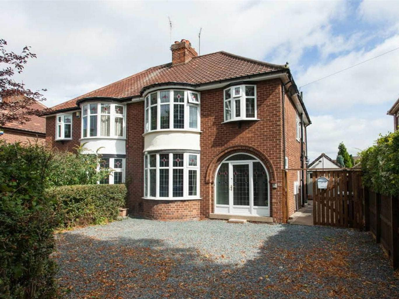 A 3 bedroom semi detached house for sale in Beckfield Lane, York, on the market for £250,000 with Stephensons