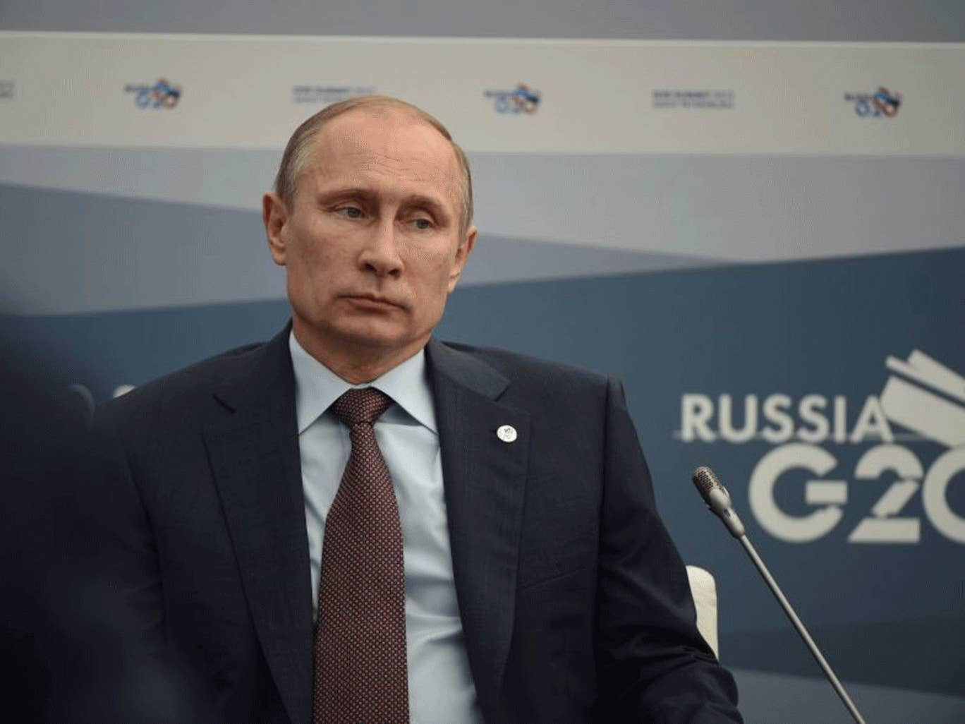 Vladimir Putin has said that Russia will not get militarily involved in Syria