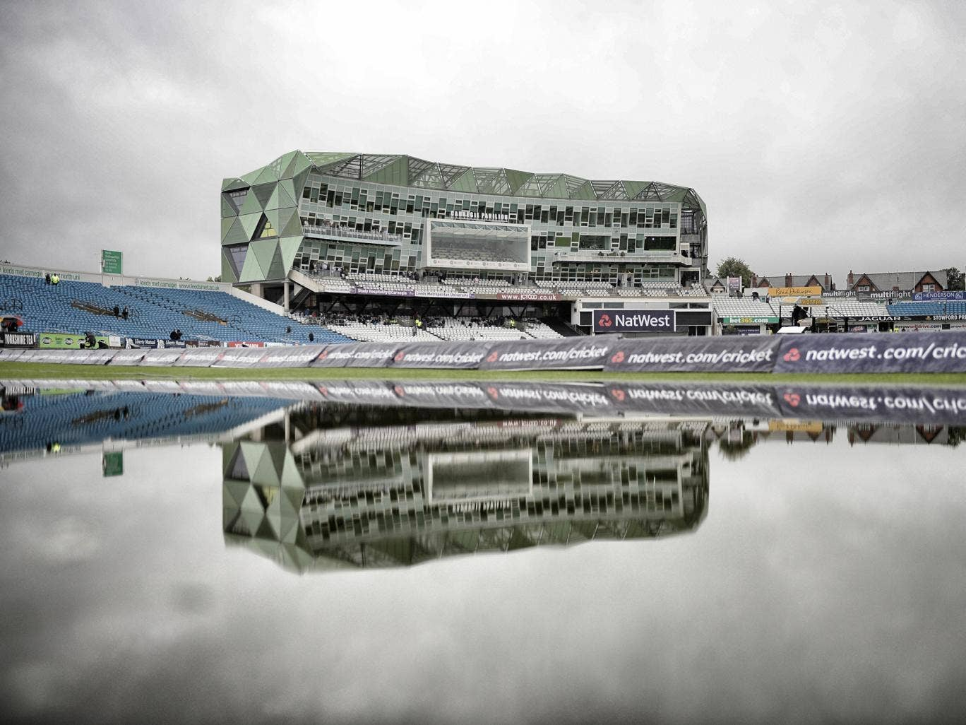 The first ODI between England and Australia has been called off due to rain at Headingley