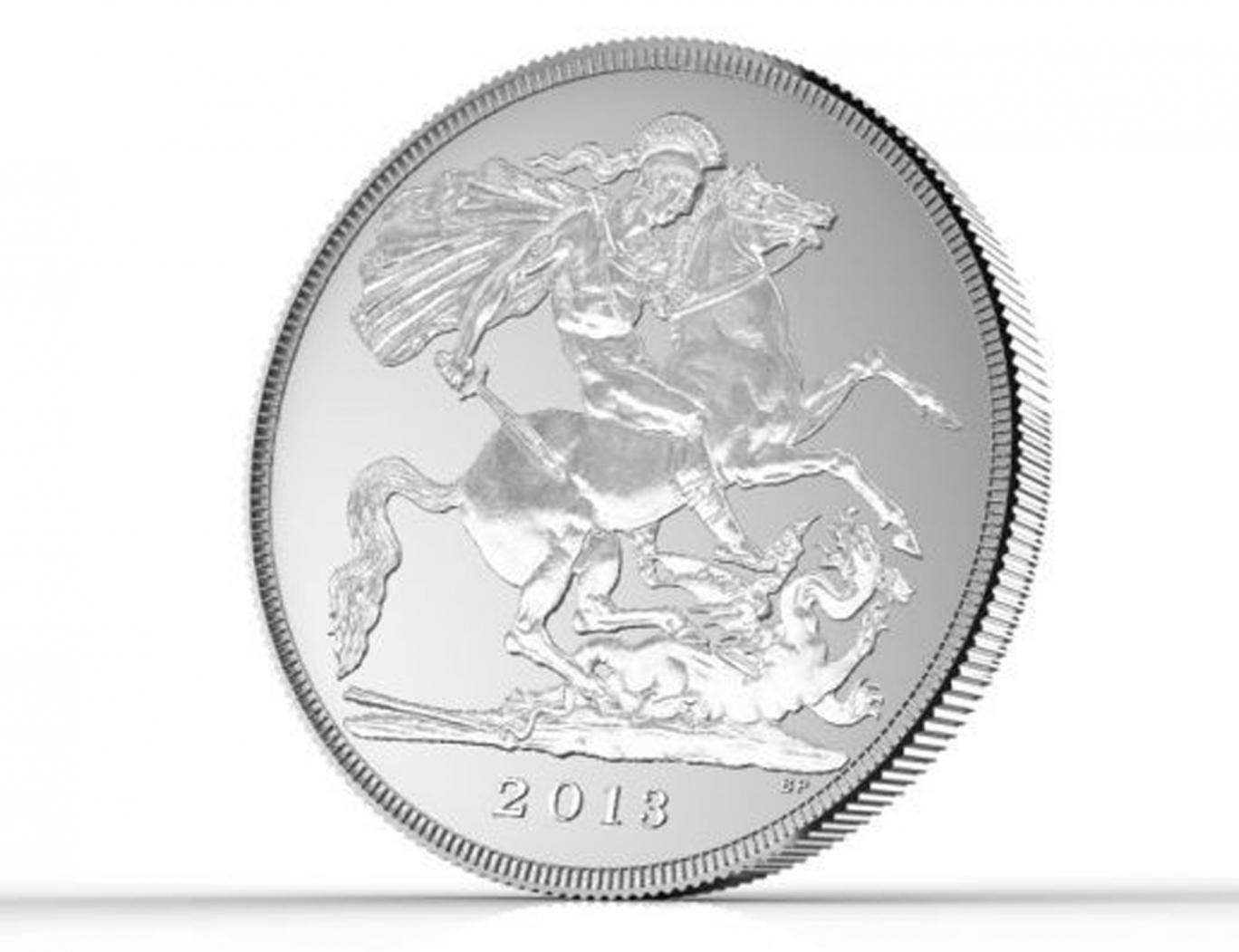 Only 250,000 £20 coins are being issued